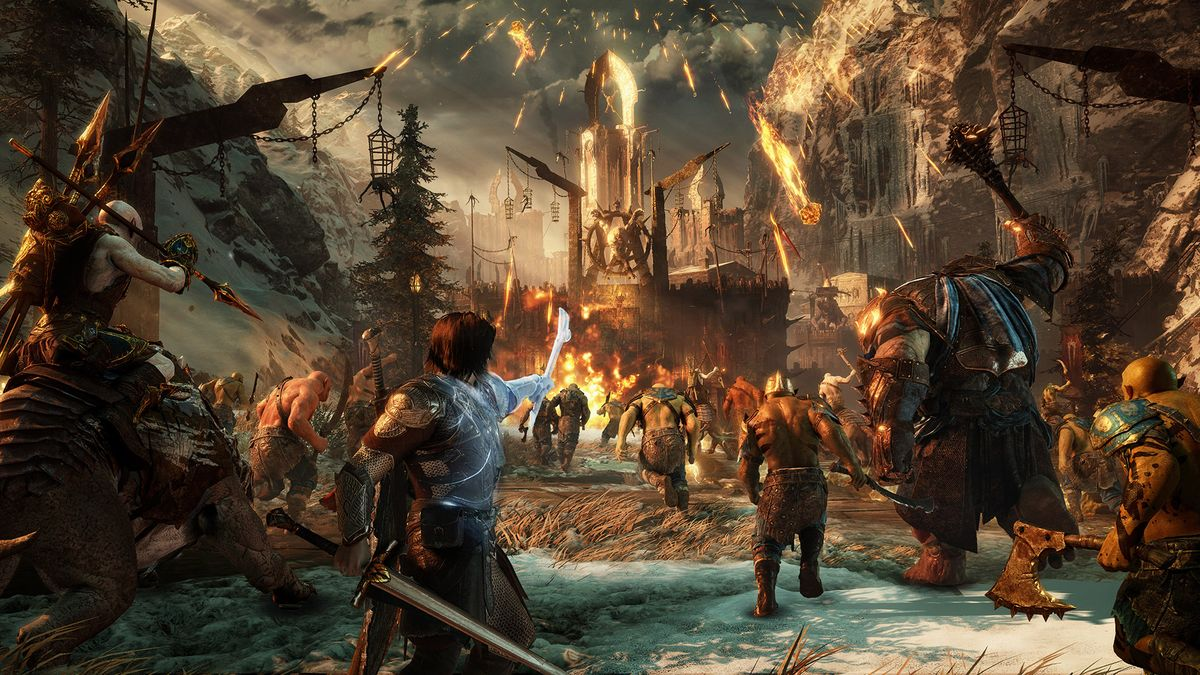 Middle Earth Shadow of War New Trailer