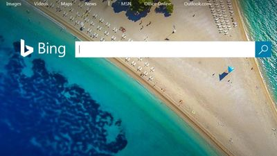 Bing's background image has a not so hidden donger in it