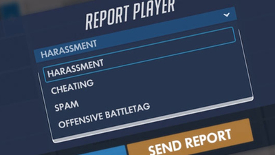 Overwatch report player