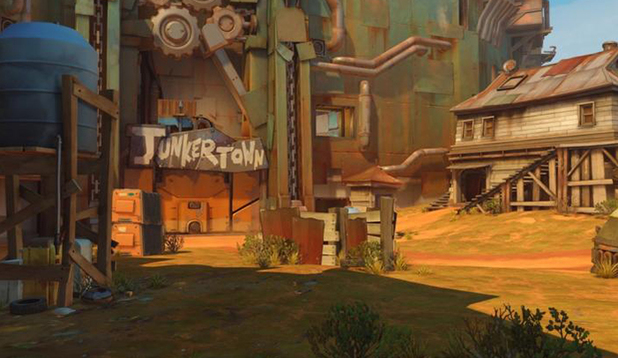 Blizzard Adds New 'Junkertown' Map To Overwatch