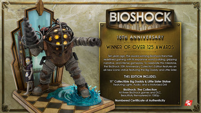 Bioshock 10th anniversary collector's edition coming in November