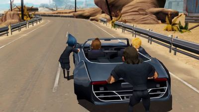 Final Fantasy XV is getting an adorably episodic Pocket Edition