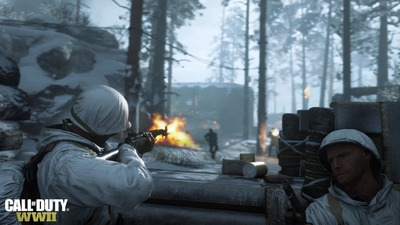 The Call of Duty: WWII beta has gone live on PlayStation 4 a day early