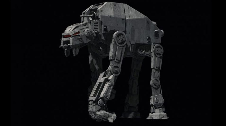 New Star Wars: The Last Jedi Walker and Dreadnaught vehicles revealed