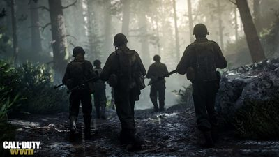 Microsoft says it's up to Activision to announce if CoD: WWII is Xbox One X enhanced