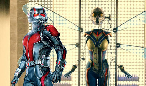 Ant-Man And The Wasp: first look at Evangeline Lilly's hero