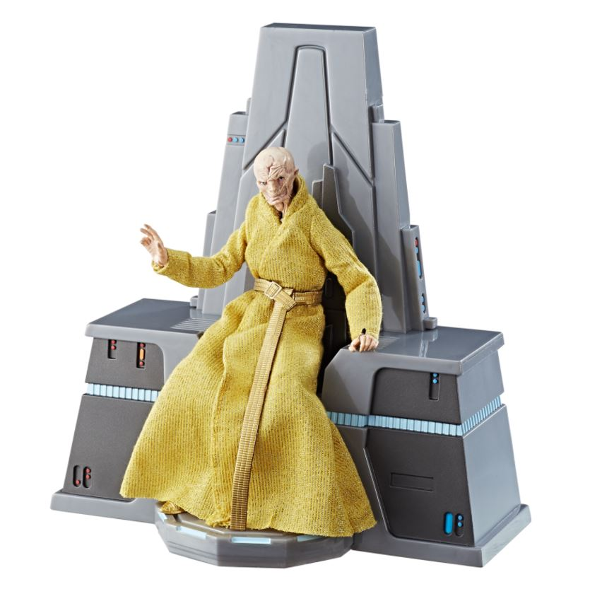 [Potential Spoilers] Supreme Leader Snoke's true form revealed by upcoming The Last Jedi toy launch