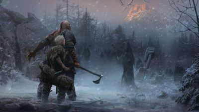 Sony releases some really awesome God of War concept art