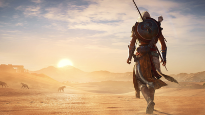 ESRB details Assassin's Creed Origins cutscenes, imagery in game summary