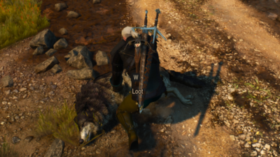 The Witcher 3 Mod Adds New Animations for Sharpening, Looting, and More
