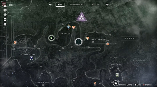 Destiny 2 map