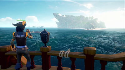 Sea of thieves water