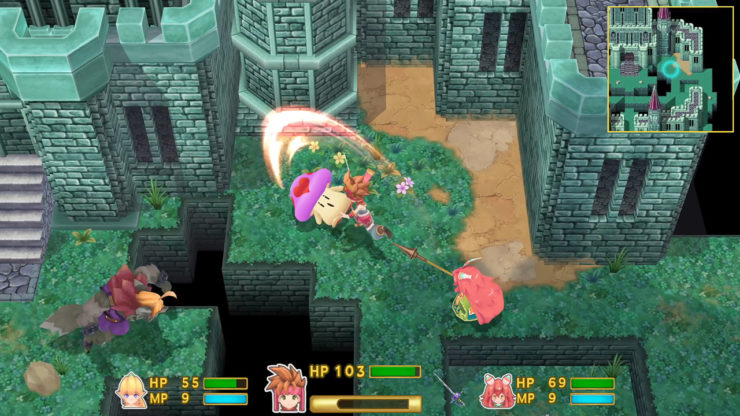 Secret of Mana Remake Gets New Screenshots, showing off UI and More