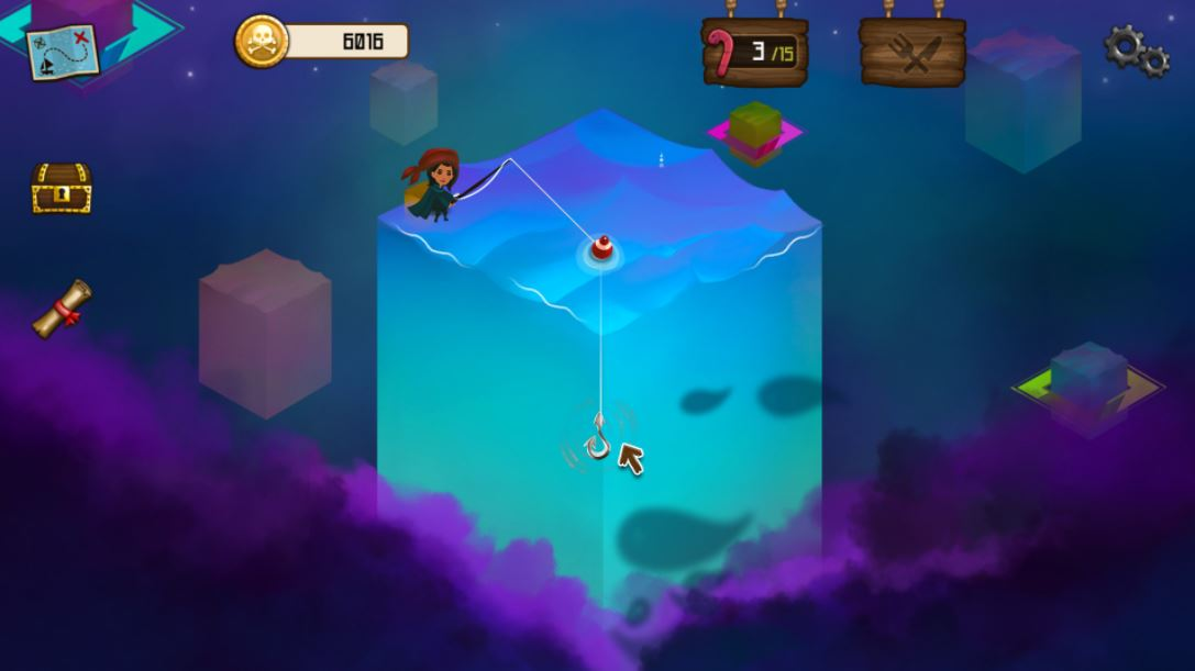 Quick thoughts on Rule with an Iron Fish, an award-winning Fishing RPG about eccentric Pirates