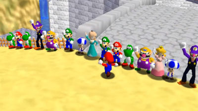 Modders Have Created Super Mario 64 Online and It's More Involved Than You'd Think