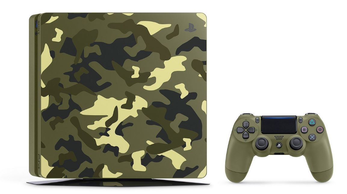 The camouflage Call of Duty: WW2 PS4 bundle needs to disappear