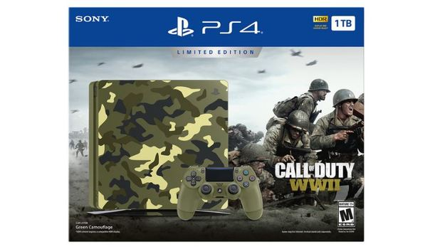 Call of Duty: WWII Limited Edition PS4 Bundle Announced
