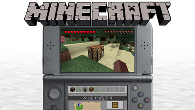 Minecraft 3ds header