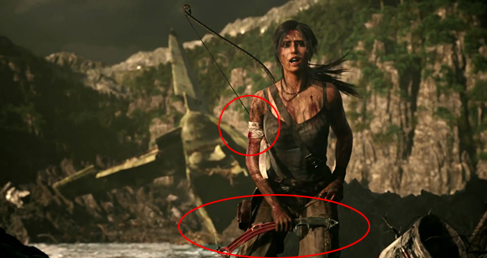 First poster for the rebooted Tomb Raider
