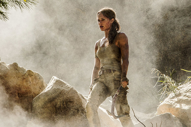 Alicia Vikander is Lara Croft in Tomb Raider Reboot's First Poster