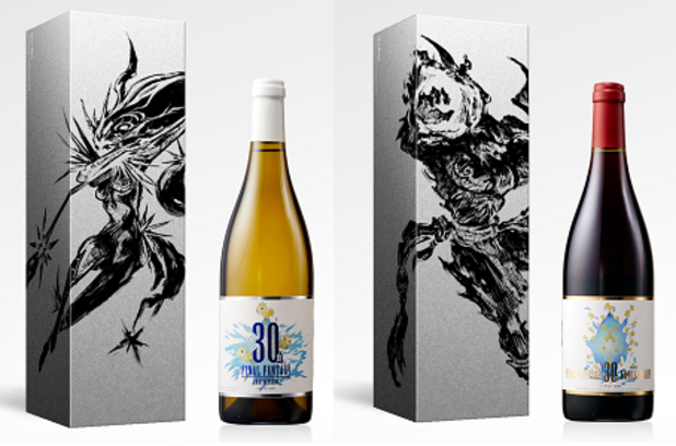 Square Enix Celebrates 30 Years of Final Fantasy with Commemorative Wines