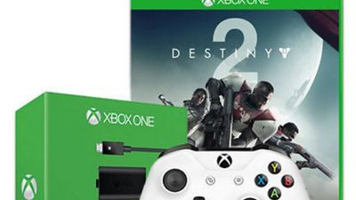 Grab Destiny 2, an Xbox One Controller, and a Play and Charge Kit for $70 right now