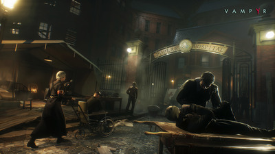 Life is Strange dev's Action-RPG Vampyr delayed into 2018