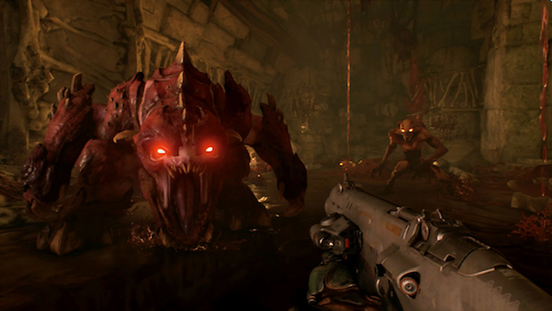 Hands-on: Playing Doom on the Nintendo Switch