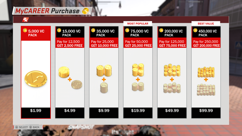 NBA 2K18 system makes it difficult to personalize your character without microtransactions