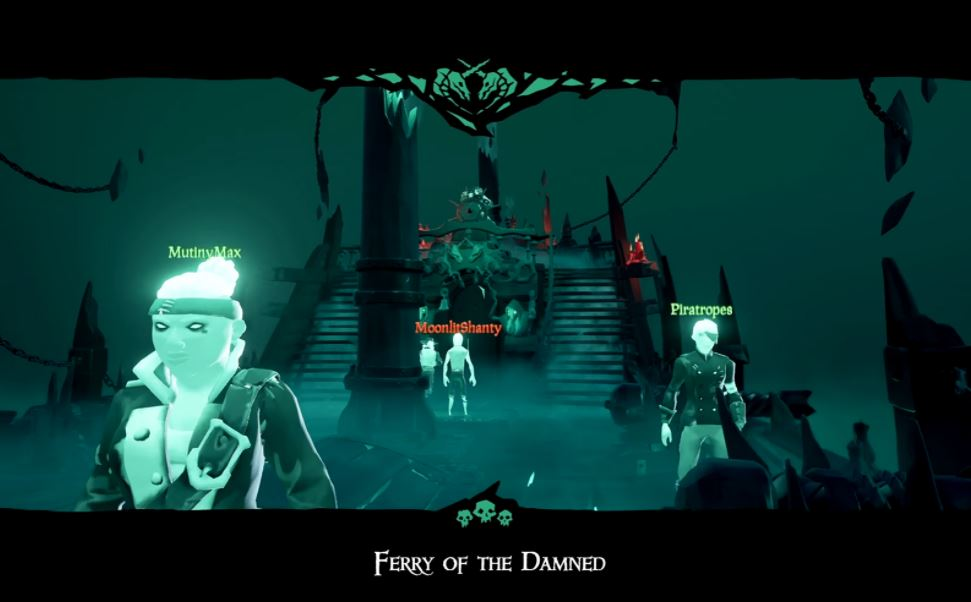 [Watch] Sea of Thieves releases brief video talking about the Ferry of the Damned