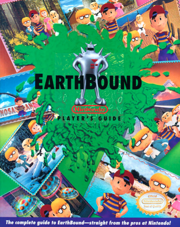 Earthbound Player's Guide Officially Released Online For Free