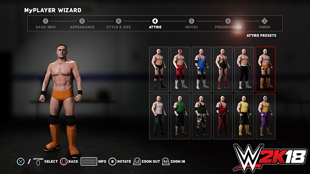 MyPlayer WWE