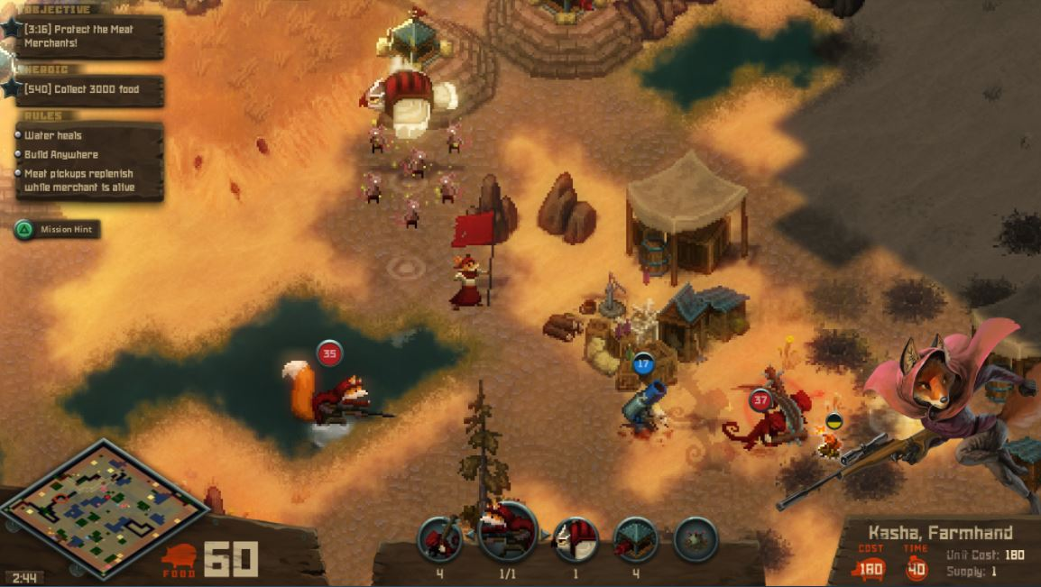 Quick Thoughts on Tooth and Tail, an RTS for the casual crowd