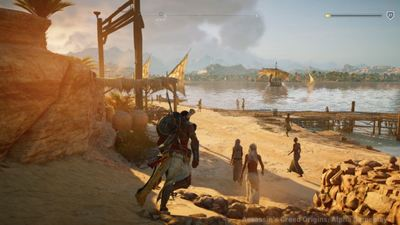 [Watch] New Assassin's Creed: Origins trailer feels like a Family Guy flashback scene