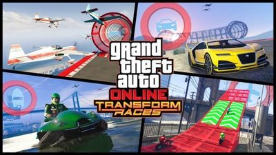 GTA 5 Online unveils Transform Races that will shift between land, sea, and air