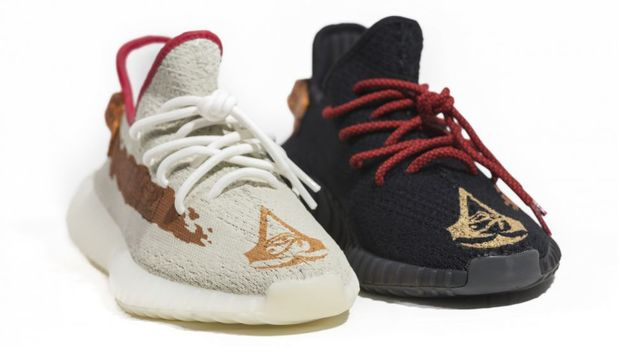 Now You Can Free Run in Your Own Assassin's Creed Origins Shoes From Yeezy