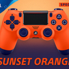 PS4 Sunset Orange