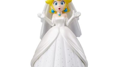 Super Mario Odyssey's Peach Amiibo makes Mario wear a wedding dress