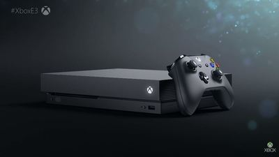 "Xbox One X could ""possibly"" get a unique boot up screen"