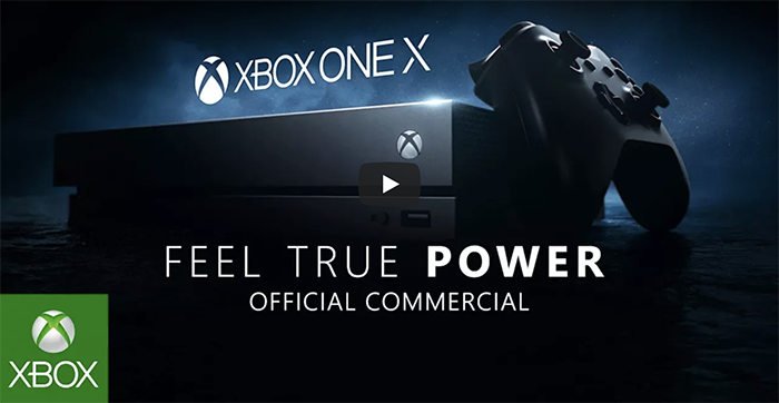 [Watch] Microsoft debuts Xbox One X World Premier TV Commercial