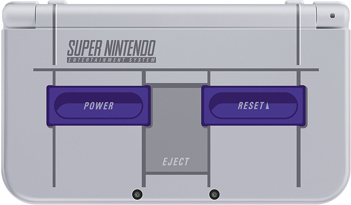Nintendo stealth announces SNES themed 3DS XL