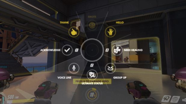 Spamming Voice Lines in Overwatch Could End in Silencing