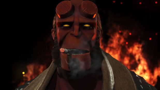 Injustice 2 welcomes Hellboy into its star-studded superhero fold