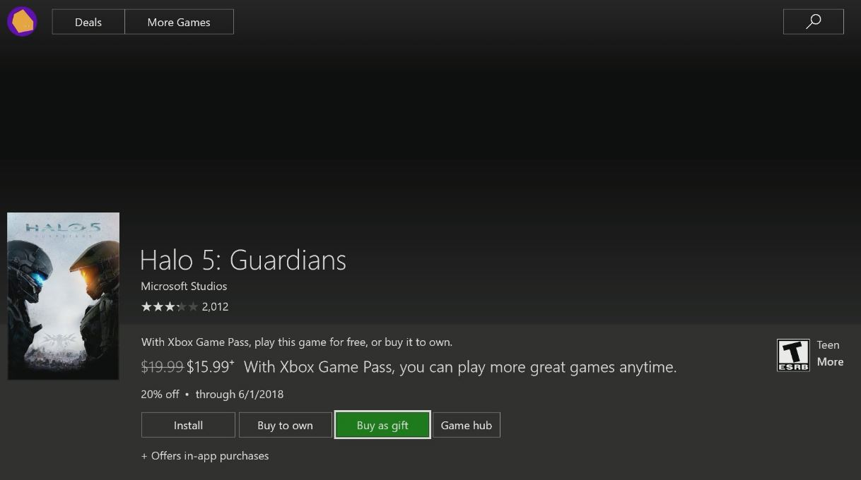 Xbox One 'Gifting' feature heads to more Insiders Today