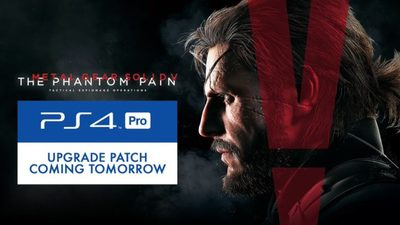 Metal Gear Solid V: The Phantom Pain Gets a PS4 Pro Patch