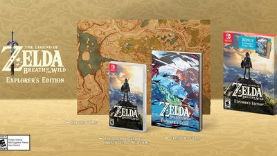 Confirmed: The Legend of Zelda: Breath of the Wild - Explorer's Edition and Zelda 2DS Bundle are Coming