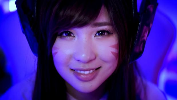 [Watch] Check out the live action JPop music video starring D.Va