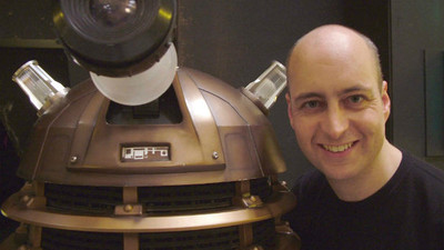 The operator of the Daleks on 'Doctor Who' has been fired for covertly insulting the BBC
