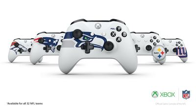 Xbox Design Lab is bringing NFL team logos as customization options