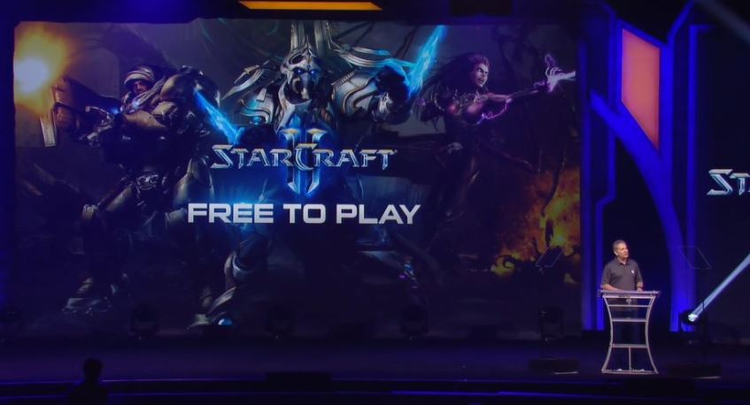 Starcraft ii wings of liberty going free to play details for Star craft 2 free 2 play